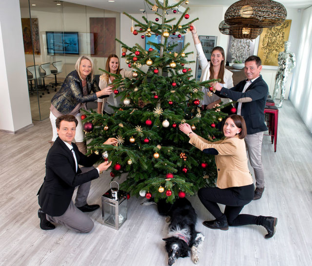 Weihnachten in der Kanzlei Zacek
